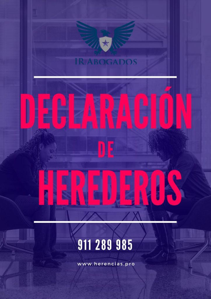 Declaración de herederos