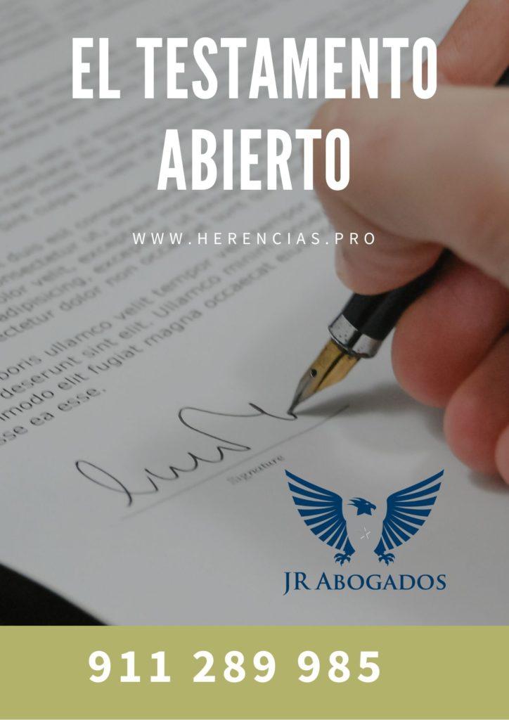 El testamento abierto - Alcalá de Henares