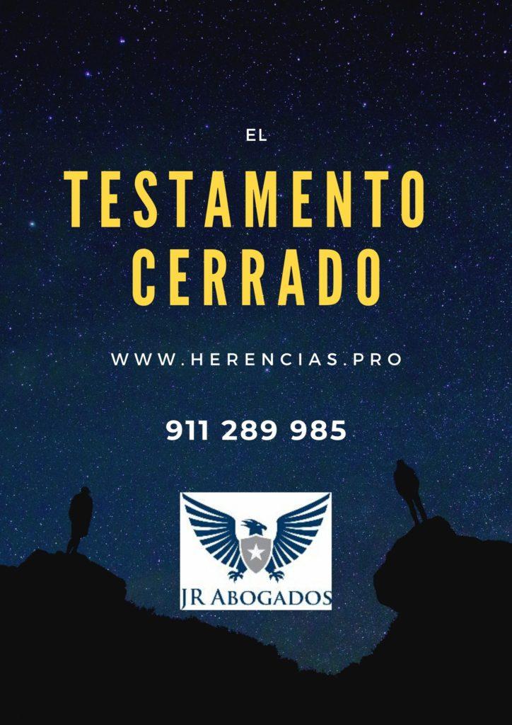 El testamento cerrado en Alcalá de Henares