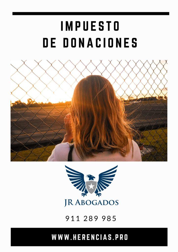 el impuesto de donaciones en Madrid
