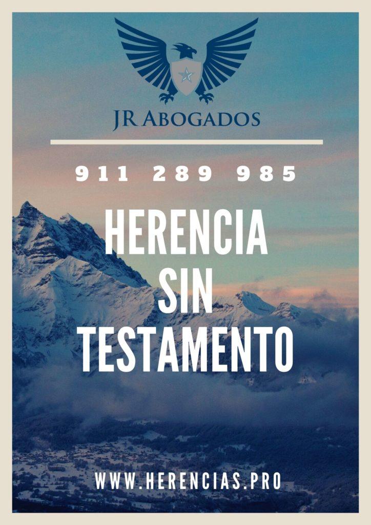 herencia sin testamento en Alcalá de Henares