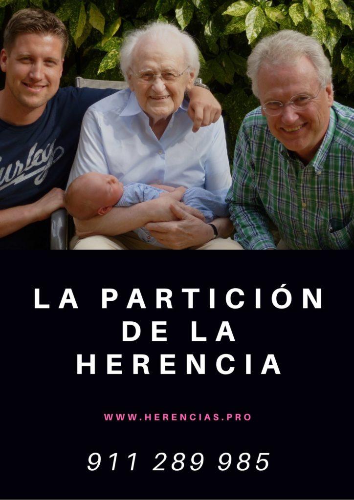 La partición de herencia. Alcalá de Henares